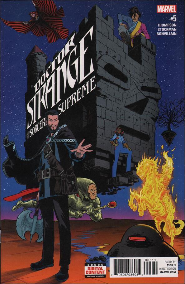Doctor Strange and the Sorcerers Supreme #5 [2017] VF/NM Marvel Comics