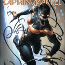 Mighty Captain Marvel #3 Clayton Crain Venomized Variant Cover [2017] VF/NM Marvel Comics