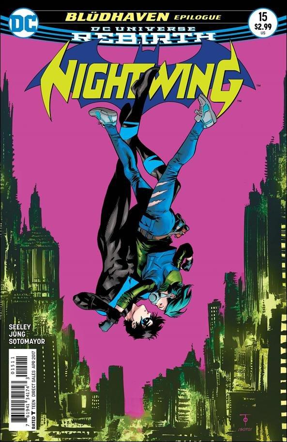 Nightwing #15 [2017] VF/NM DC Comics