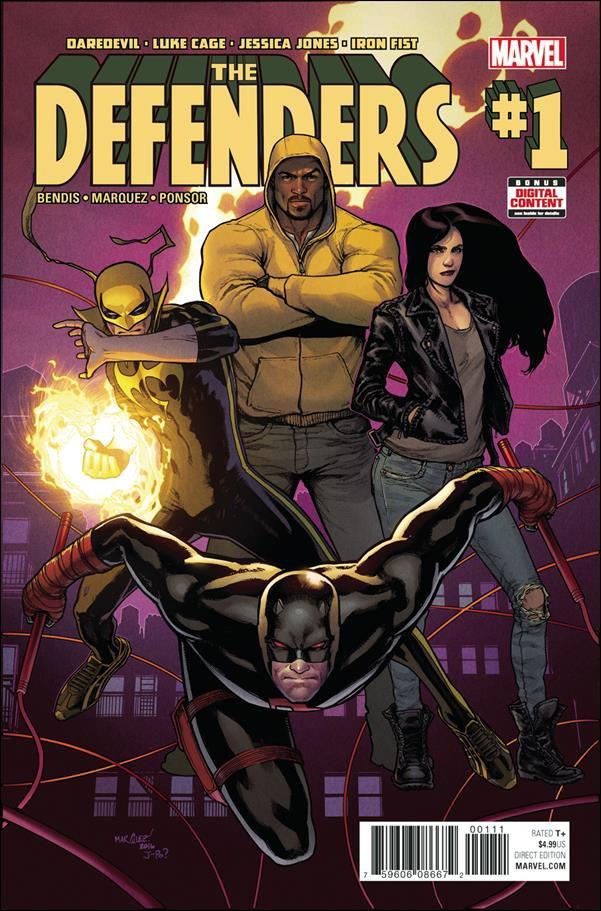 Defenders #1 [2017] VF/NM Marvel Comics