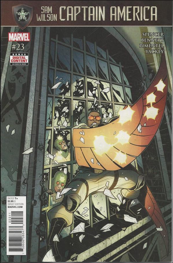 Captain America: Sam Wilson #23 [2017] VF/NM Marvel Comics