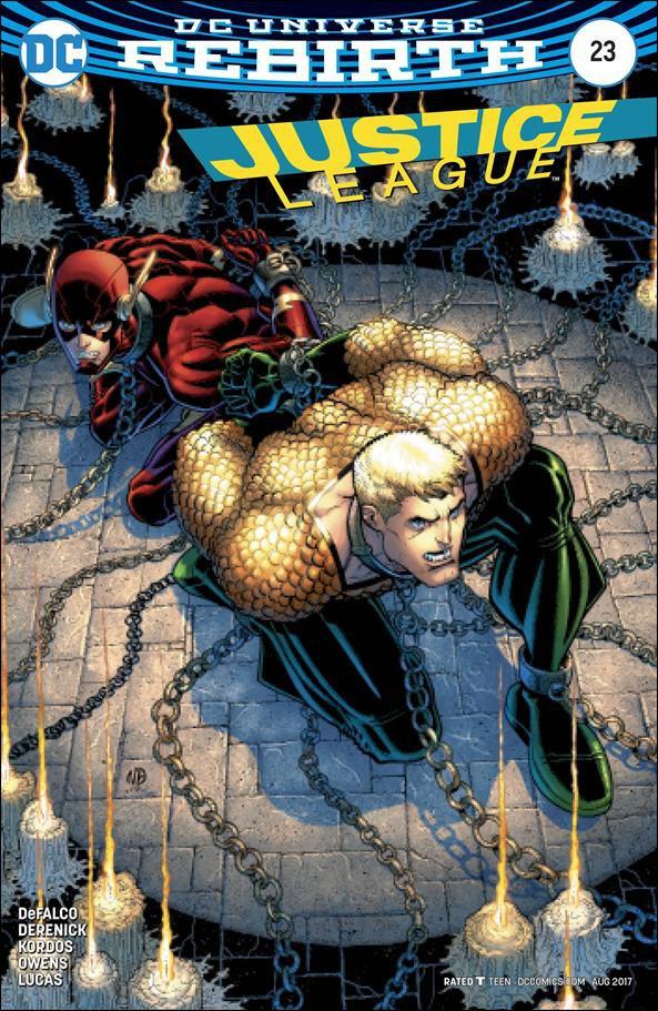 Justice League #23 Sandra Hope Variant Cover [2017] VF/NM DC Comics