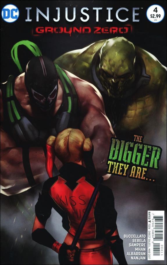 Injustice: Ground Zero #4 [2017] VF/NM DC Comics