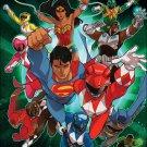Justice League / Power Rangers #2 of 6 [2017] VF/NM DC Boom! Studios Comics