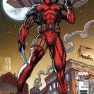 Deadpool #33 Jim Lee X-Men Trading Card Variant Cover [2017] VF/NM Marvel Comics
