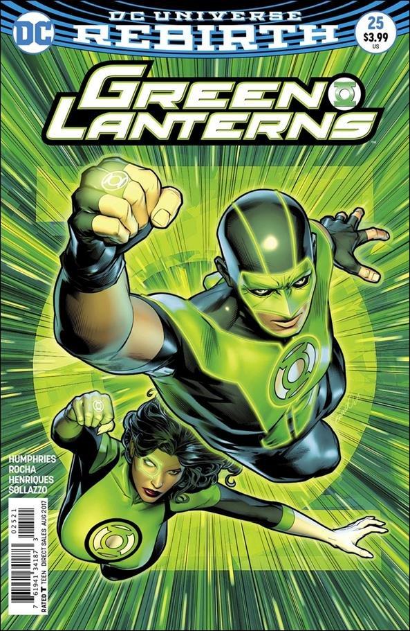 Green Lanterns #25 Brandon Peterson Variant Cover [2017] VF/NM DC Comics