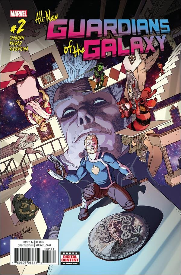 All-New Guardians of the Galaxy #2 [2017] VF/NM Marvel Comics