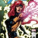 X-Men: Blue #7 Jim Lee X-Men Trading Card Variant Cover [2017] VF/NM Marvel Comics