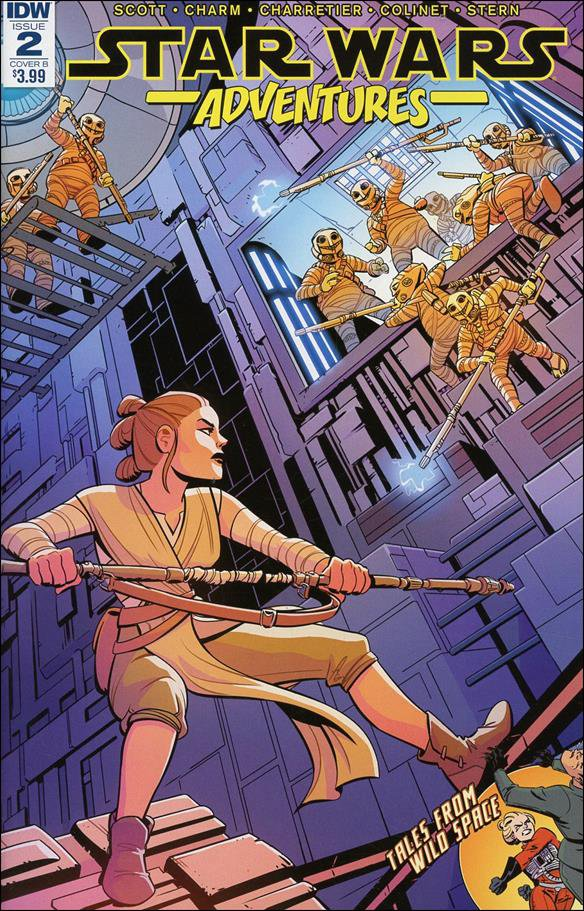 Star Wars Adventures #2 Elsa Charretier Variant Cover [2017] VF/NM IDW Comics