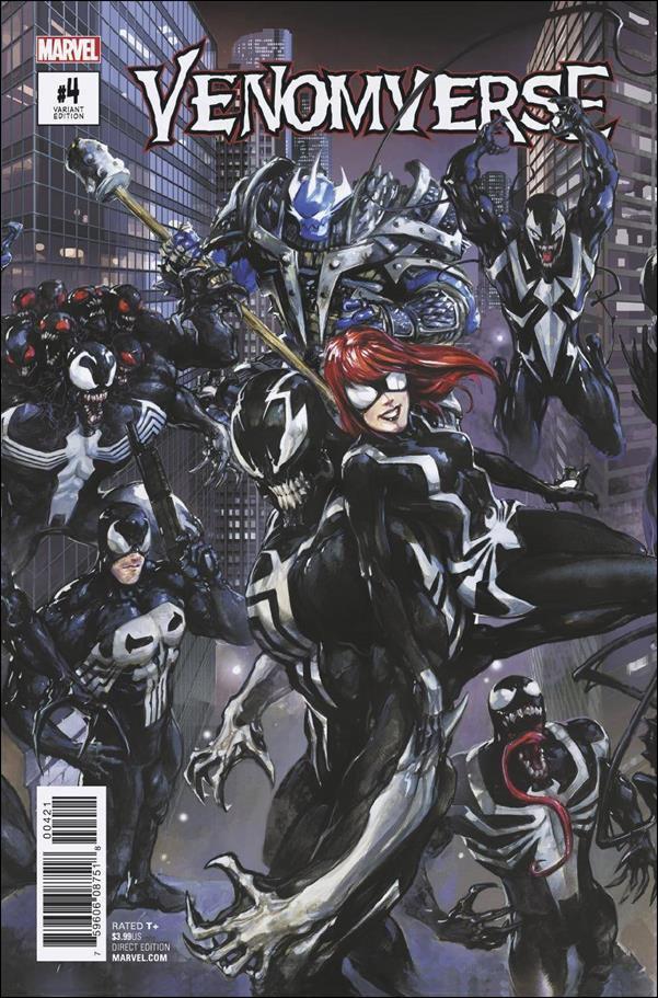 Venomverse #4 of 5 Clayton Crain Connecting Variant Cover [2017] VF/NM Marvel Comics