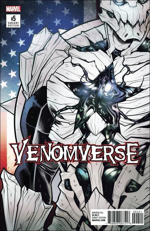 Venomverse #5 of 5 Elizabeth Torque Variant Cover [2017] VF/NM Marvel Comics