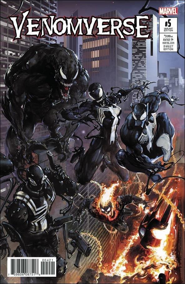 Venomverse #5 of 5 Clayton Crain Connecting Variant Cover [2017] VF/NM Marvel Comics