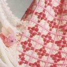 VKNC 012 Retro 60's pram cot blankert Crochet Pattern Vintage style pattern