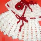 VKNC132 Baby Poppy  Coat  Crochet Pattern NEW