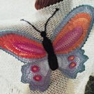VKNC136 Retro Shawl Crochet Pattern Vintage style pattern
