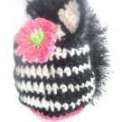 VKNC211 Baby zebra animal Hat Crochet Pattern NEW