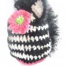 VKNC211 Baby zebra animal Hat Crochet Pattern NEW