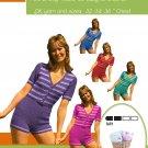VKNC26Ladies Retro Mod Onesee play suit Pattern PDF download