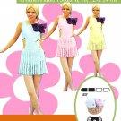 VKNC331 - Ladies Crochet Retro Style Clubbing Dress crochet pattern PDF