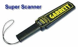 Garrett Super Scanner Security Handheld Metal Detector