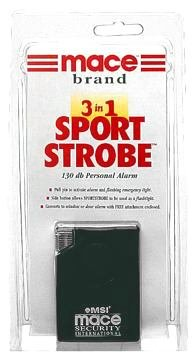 Mace Emergency Security Sports Strobe Personal Alarm 80238