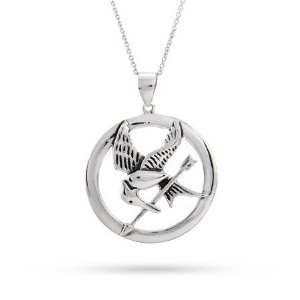 The Hunger Games Inspired Mocking Jay Necklace