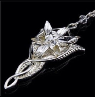 CZ Arwen's Evenstar Necklace Lord of the Rings SP