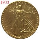 American Coin Treasures $20 Saint Gaudens Gold Piece 1933 Replica Coin