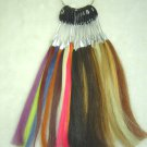 Color Swatch with 32 samples of MyLuxury1st human hair extensions