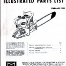 Chain Saw Parts List McCulloch MAC 15