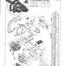 Chain Saw Parts List Mc Culloch , Pro Mac 510