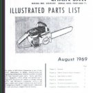 MAC  CP 55, McCulloch Chain Saw Parts List (1969)