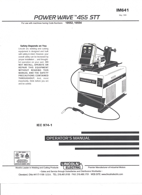 zone manual  operator u0026 39 s manual lincoln electric