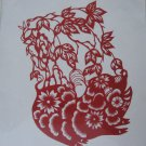 Chinese zodiac paper cut--Year of Pig