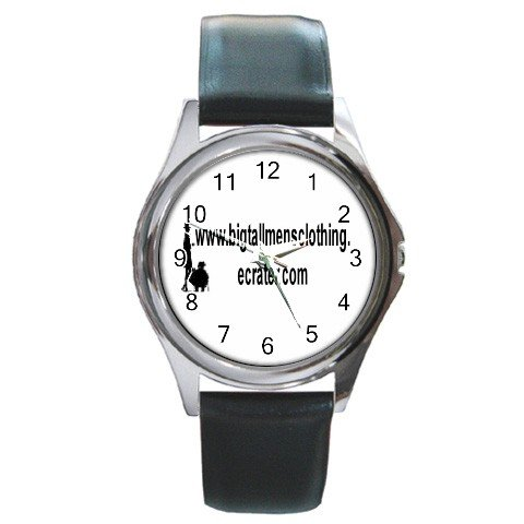 Custom Round Metal Watch Customize Promotional Item Personalize It