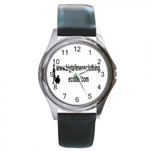 Custom Round Metal Watch Customize Promotional Item Personalize It