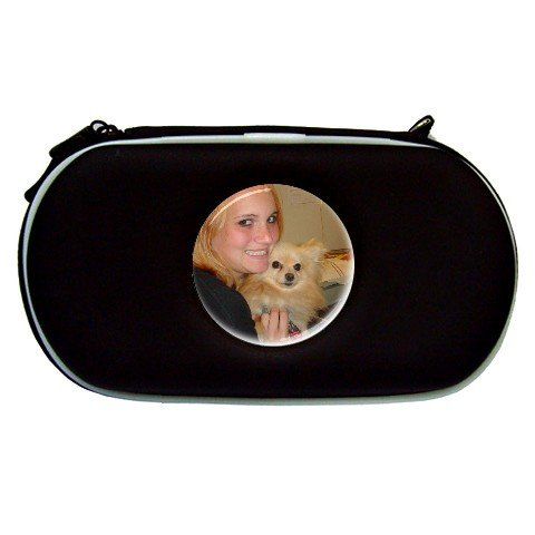Custom BLACK PSP Travel Case Play Station Portable Customize Promotional Item Personalize It