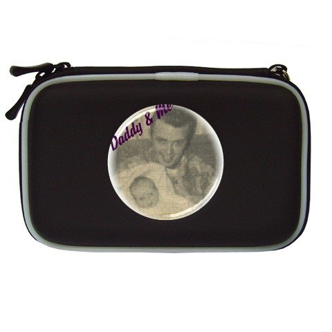 Custom BLACK NDS Lite Travel Case Customize Promotional Item Personalize It