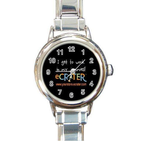Custom Round Italian Charm Watch Customize Promotional Item Personalize It