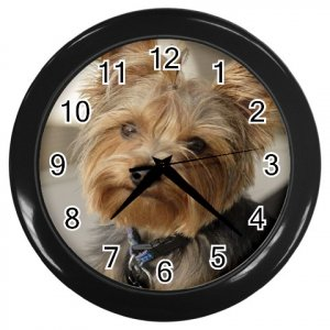 Black Custom Wall Clock Customize Promotional Item Personalize It
