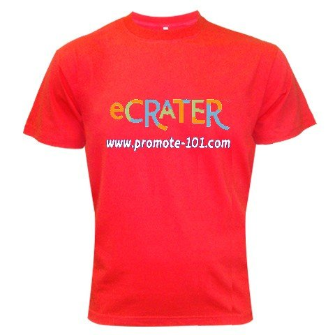 T-Shirt RED 2XL 2X - Brand Your Business Customize Promotional Item Personalize It #CT