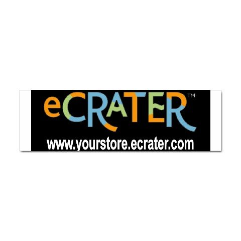 Custom Sticker Bumper 20 pack - Advertise your Logo here Customize Promotional Item Personalize It