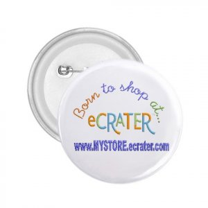 "Custom 1"" Mini Button Pins - 10 pack  Personalize for School Business Family Reunions"