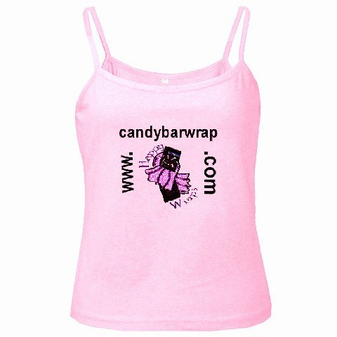 Spaghetti Tank Top PINK Ladies Large Customize Promotional Item Personalize It
