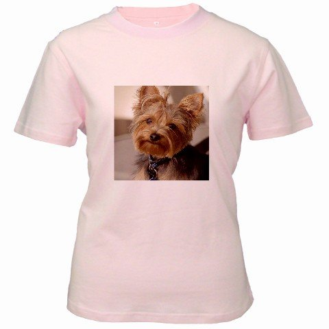 Custom Pink Women's T-Shirt Large Customized Promotional Personalize It Logo Item