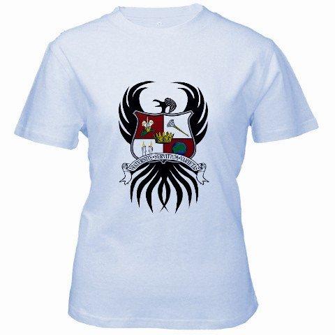 Custom Baby Blue Women's T-Shirt Ex-Large XL Customized Promotional Personalize It Logo Item