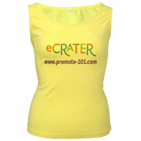 Yellow Customize Tank Top Women