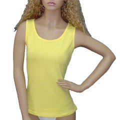Yellow Customize Tank Top Women