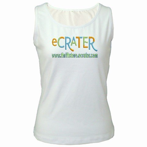 White Customize Tank Top Women