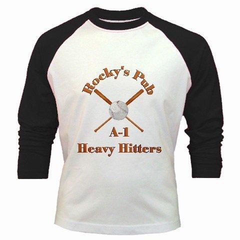 Baseball Jersey Custom Sports Team Uniform Ex-Large XL Black White Customize Personalize Logo